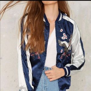 Nasty Gal Bomber Jacket